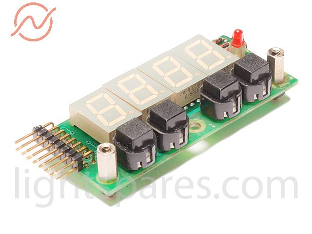 Coemar CF7 - Displayplatine