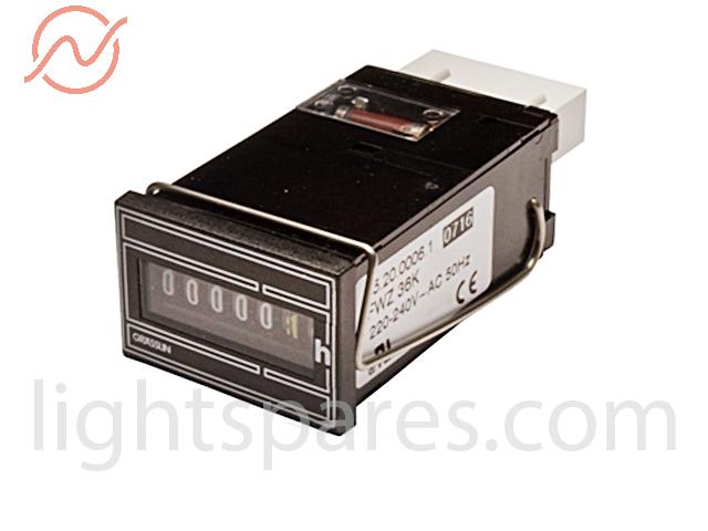 ARRI 2,5/4kW Daylight C. - Betriebsstundenzähler