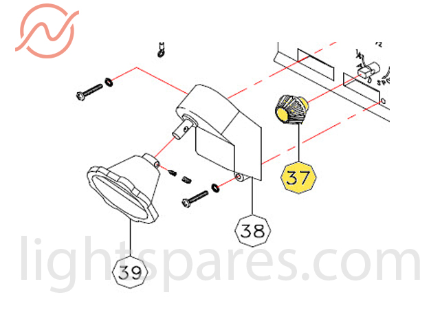 Desisti - Fiberglass Driven Gear (base)