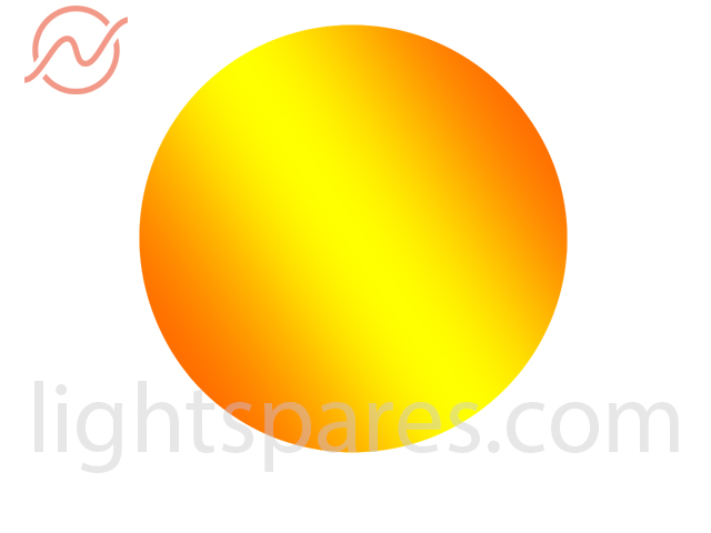 ClayPaky - Gobo dichroic E-size 37,5mm