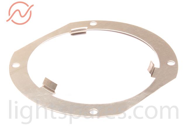 Niethammer - Dreipunkthalterblech 68mm abgeschrägt