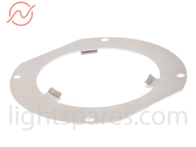 Niethammer - Dreipunkthalterblech 60mm abgeschrägt