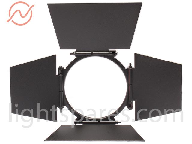 CCT Lighting Z0043 - 4 Flügel Torblende schwarz