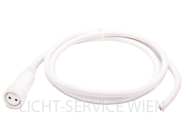 PROLED Kabel 2Pol 100cm, 1xW-open end, weiss
