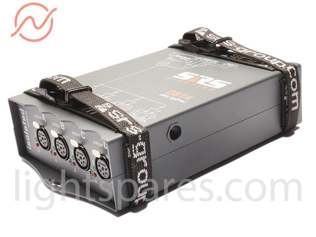 SRS - DST4-5 4 Channel DMX Splitter, Truss mount