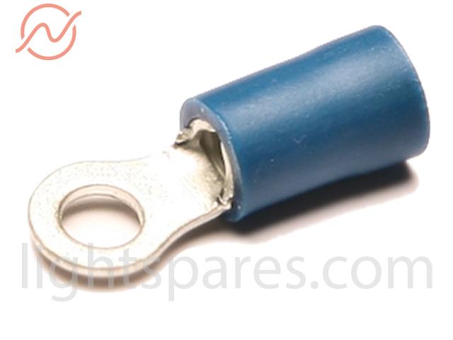 Kabelschuh blau Ringzunge M3