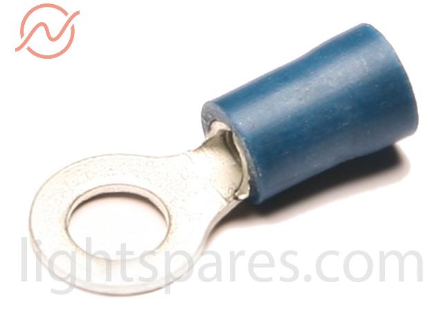 Kabelschuh blau Ringzunge M5