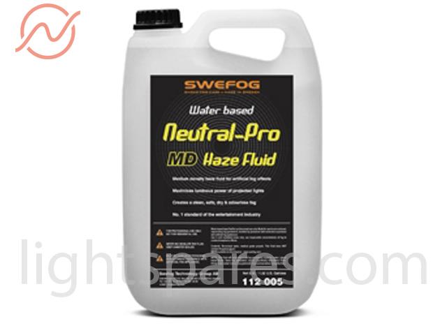 Swefog - Neutral Pro Haze MD, 5L Kanister - Medium