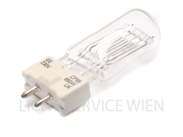 Halogen Lampe CP89 240V 650W FRM [GY9,5] Osram