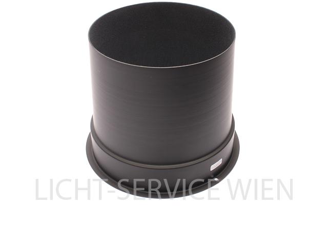 "Tubus ,Top Hat 10"" Lang, schwarz, stapelbar"